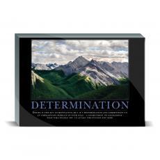 Motivational Posters - Determination Mountain Desktop Print