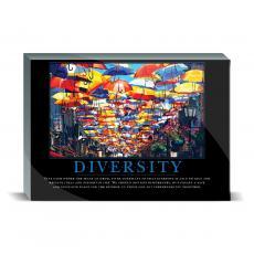 Fun Motivation & Gifts - Diversity Umbrellas Desktop Print