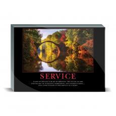 Motivational Posters - Service Bridge Desktop Print
