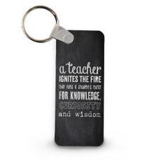 Teachers Chalkboard Keychain