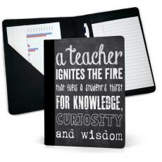 Teacher Gifts - Teachers Chalkboard Jr. Padfolio