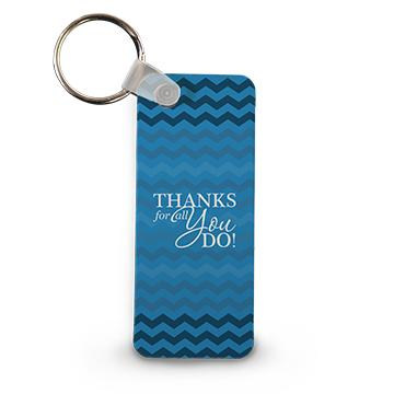 Thanks for All You Do Keychain