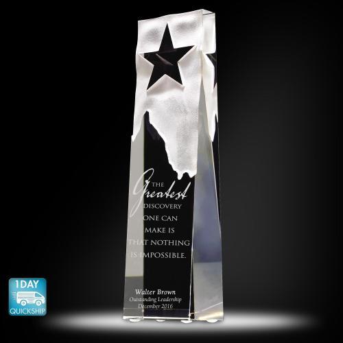 Star Obelisk Crystal Award