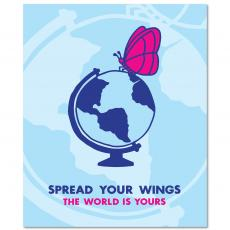 All Motivational Posters - Spread Your Wings Inspirational Art