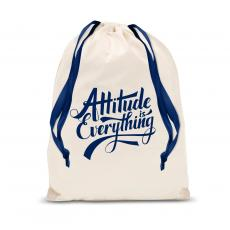 New Products - Attitude is Everything Drawstring Gift Bag
