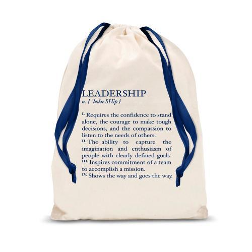 Definition: Leadership Drawstring Gift Bag