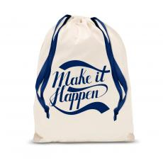 New Products - Make it Happen Drawstring Gift Bag