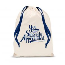 New Products - Sincerely Appreciated Drawstring Gift Bag