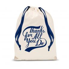 New Products - Thanks for All You Do Drawstring Gift Bag