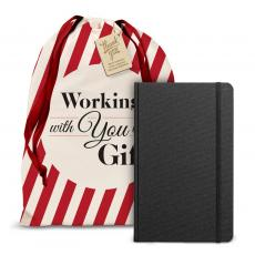Shinola Detroit Journals - Working With You is a Gift Shinola Journal Holiday Gift Set