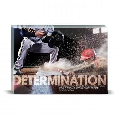 Determination Baseball Motivational Art