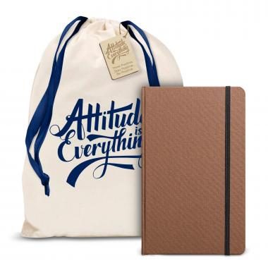 Attitude is Everything Shinola Journal Gift Set
