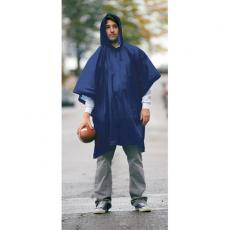 Outerwear - Game Day - One-size-fits-all hooded waterproof poncho with side snaps