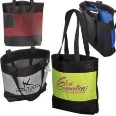 Tote Bags General - Odyssey<sup>®</sup> - Microfiber tote with mesh back and internal pocket